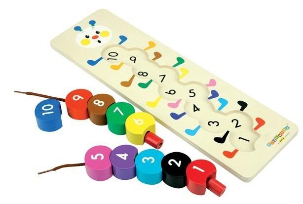 лучше всего учить ребенка считать в игре