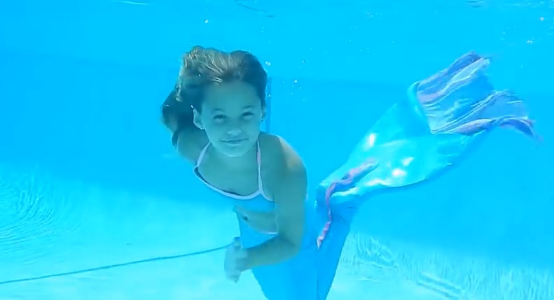Как плавает русалка - как стать русалкой