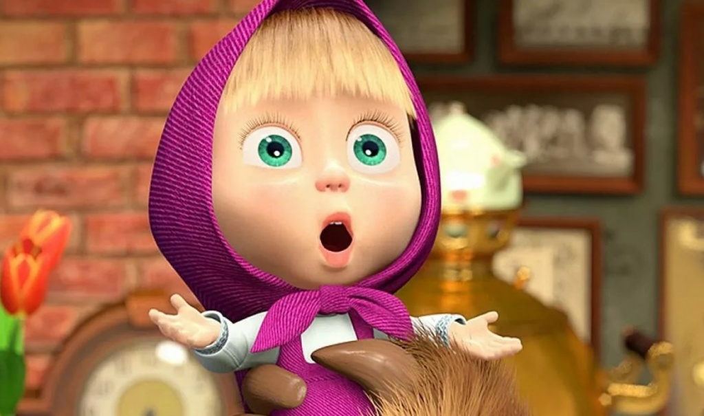 Маша - главная героиня мультфильма Маша и Медведь