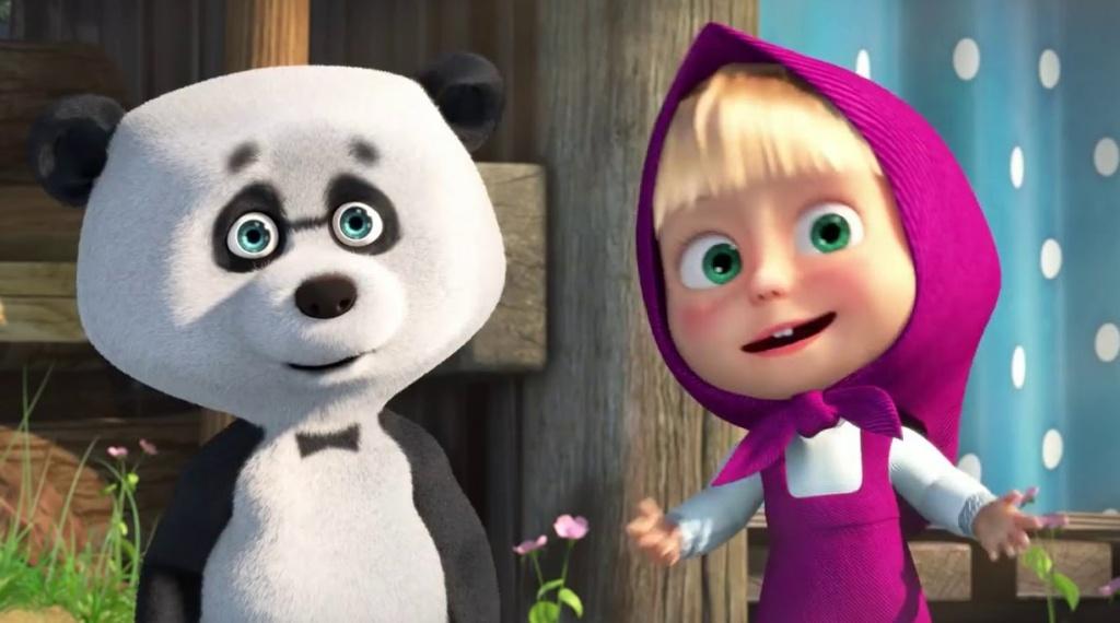 Маша и панда