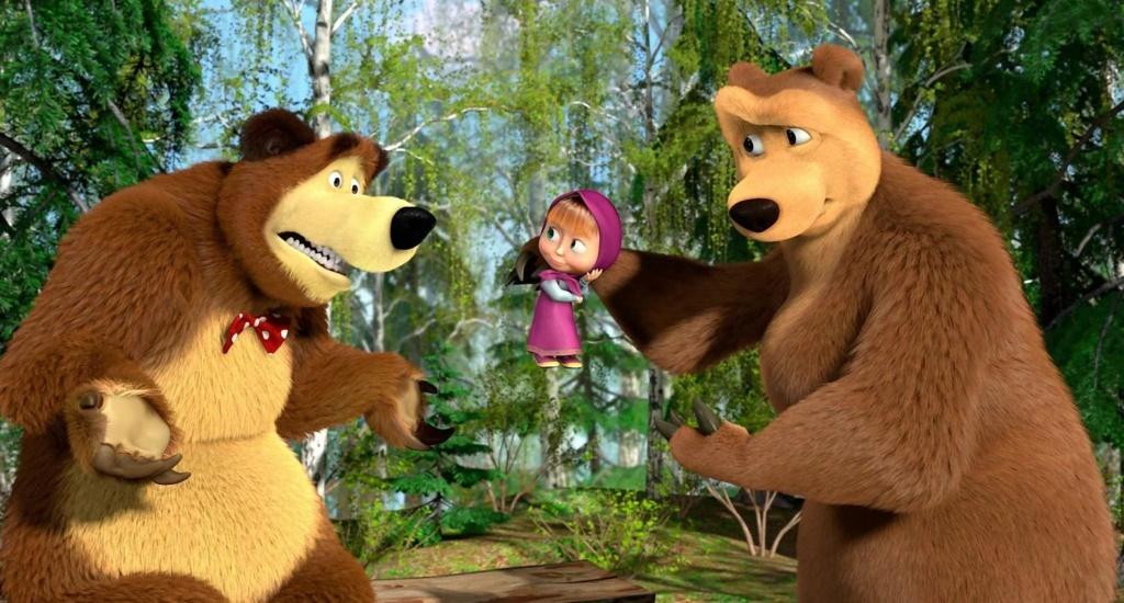 Медведица и Маша