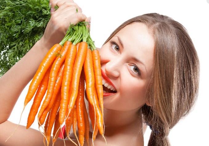 Бета каротин содержится в моркови
