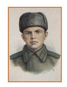 Герой ВОВ Александр Матвеевич Матросов
