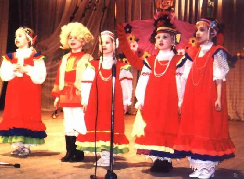 Народные песни русского народа