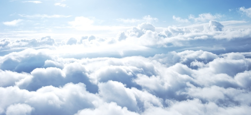 Облака - фото сверху