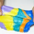 Как сделать лизуна дома разных цветов, инструкции как сделать лизуна из разных материалов