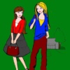 Раскраски для девочек распечатать бесплатно модницы
